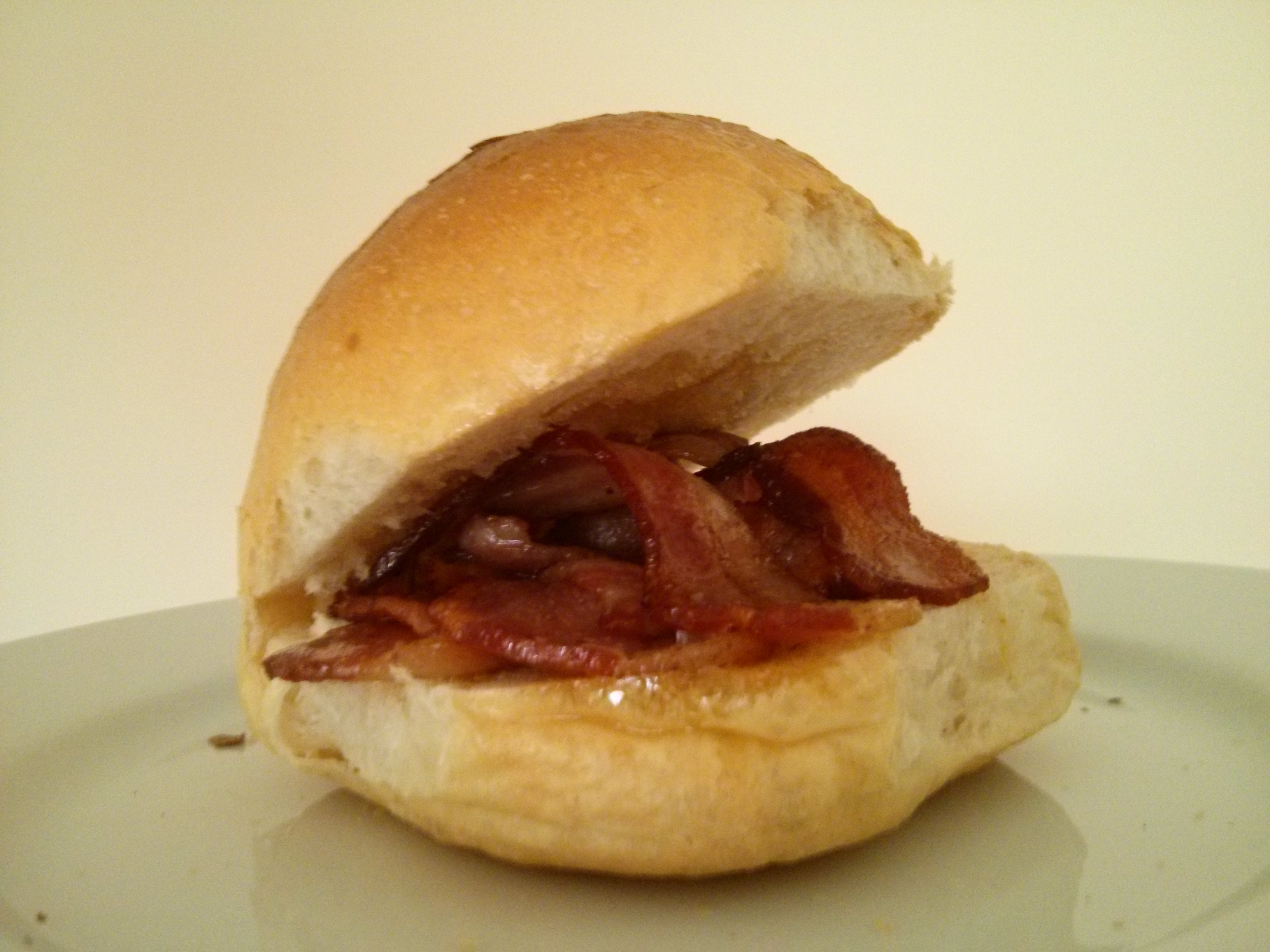 ... truly amazing, then it has to be bread + bacon = bacon sandwich