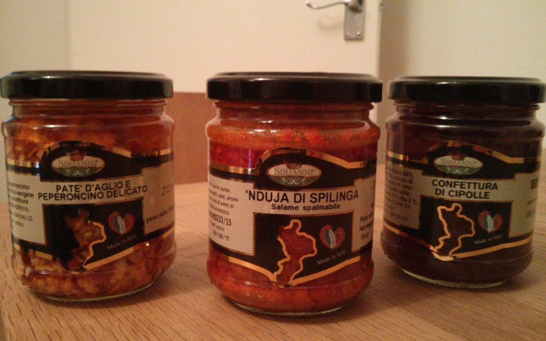 A tempting trio of Calabrian preserves