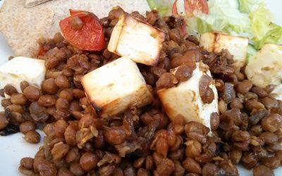 Lentil and Feta Bake Recipe