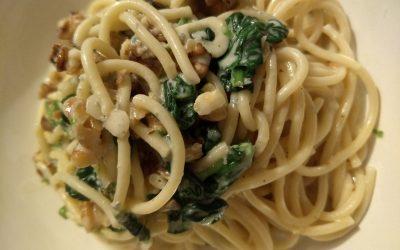 Gorgonzola & Walnut Pasta Recipe